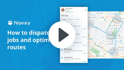 How to dispatch jobs and optimize routes in a minute
