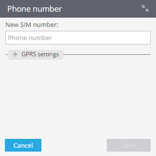 GPRS-settings