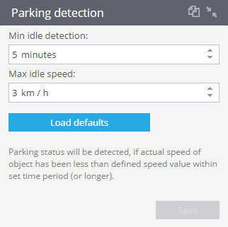 Parkingdetection
