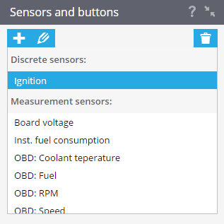 sensorsandbuttons
