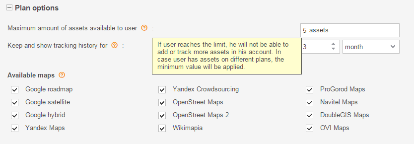 User Limitation AP