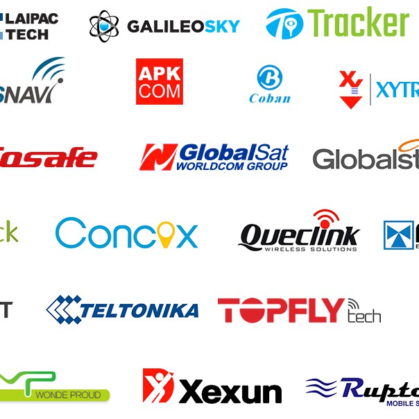 Brands of GPS trackers