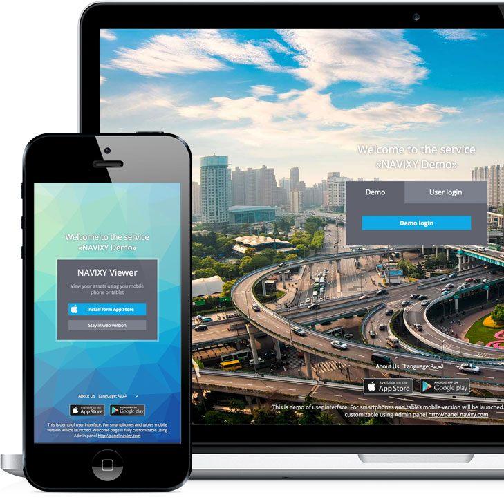 demo-web-interface