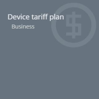 Device-tariff-plan