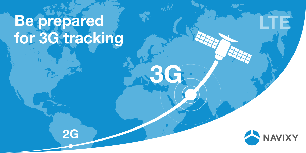 3G GPS tracking business era is near at hand. 2G became a thing of the past.
