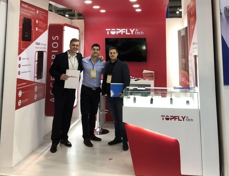 Navixy participó en Expo Seguridad México 2018