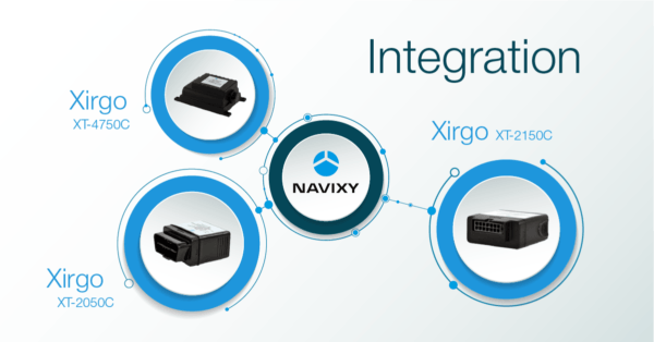 The integration of some Xirgo GPS trackers