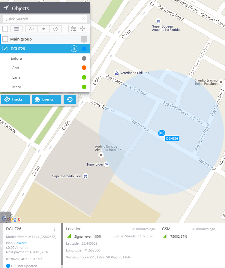 LBS or Cell-ID location