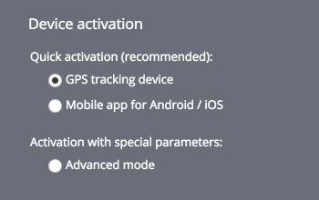 Automatic device activation