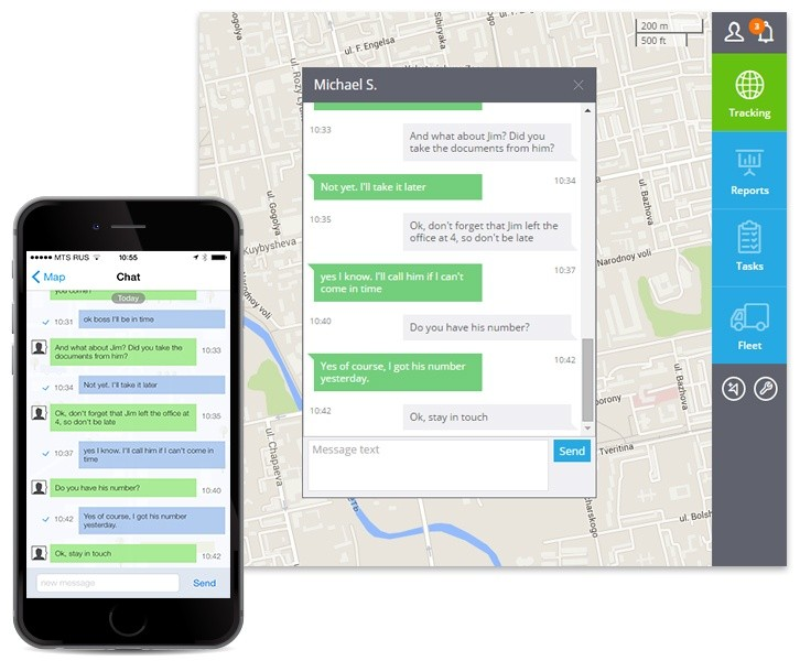Meet X-GPS Monitor Chat for iOS