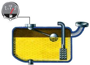 Float fuel sensor
