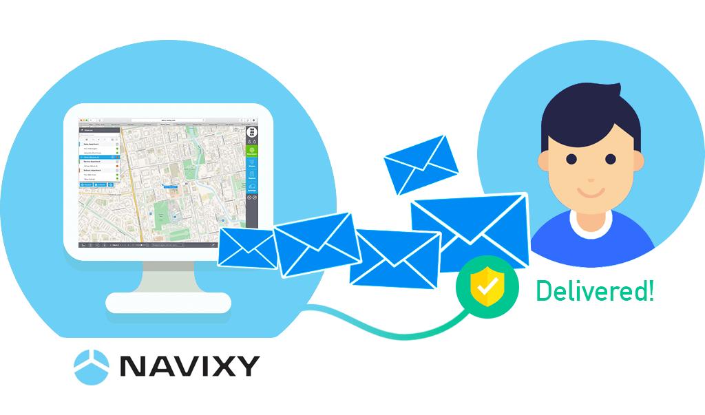 Improve e-mail deliverability with Navixy