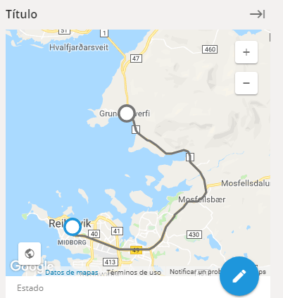 Tareas de ruta