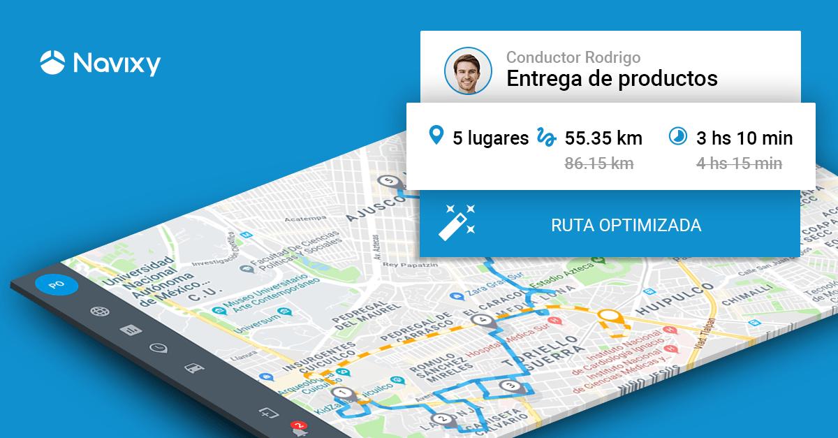 Optimización inteligente de rutas: Nueva característica para una planificación efectiva