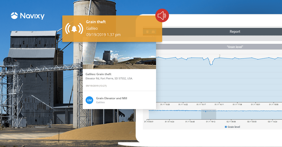 How telematics helps fight elevator theft and accurately measure grain stock