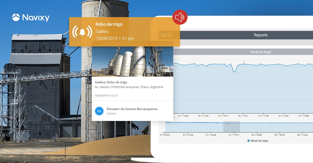 Cómo la telemática ayuda a prevenir el robo y calcular con precisión las reservas de granos