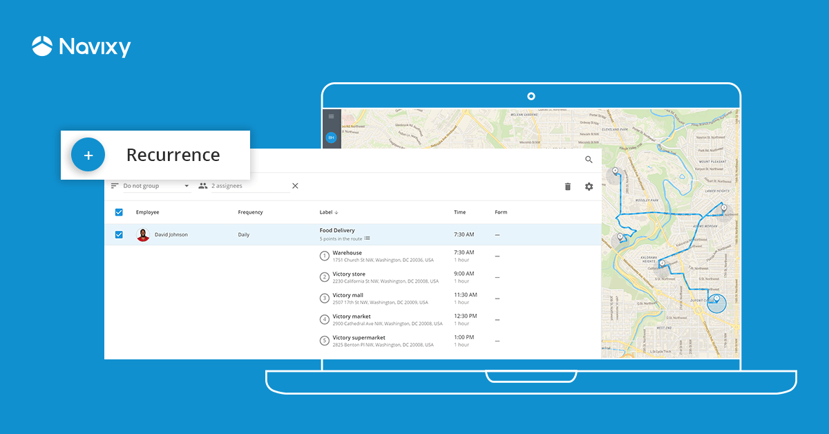 Automation of Recurring Routes: New Feature for Effective Planning