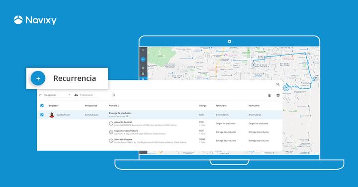 Automatización de rutas recurrentes: nueva característica para una planificación efectiva