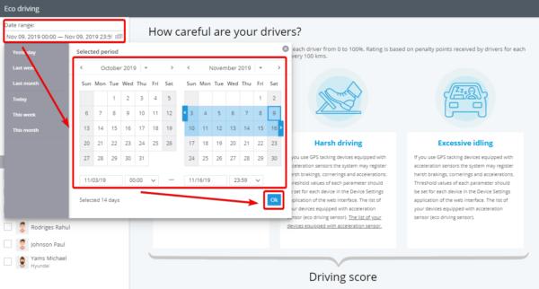 Relatório de eco condução