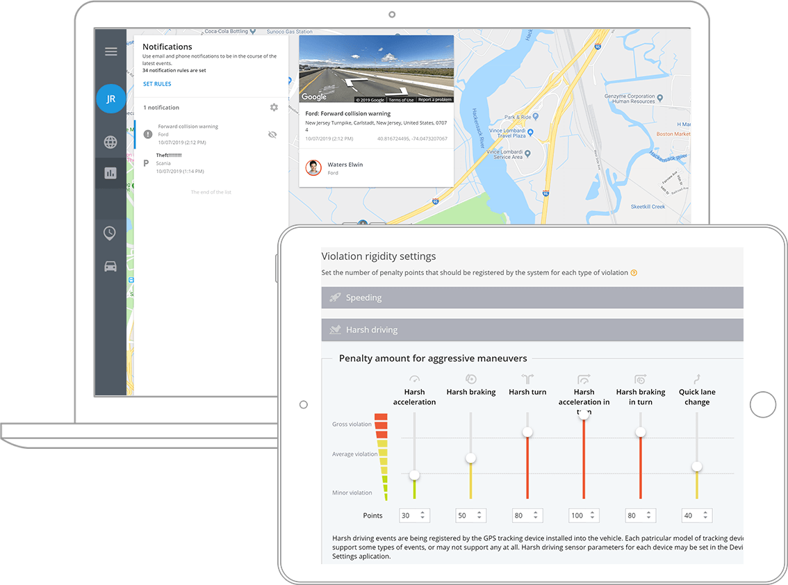 Guarantee passenger safety