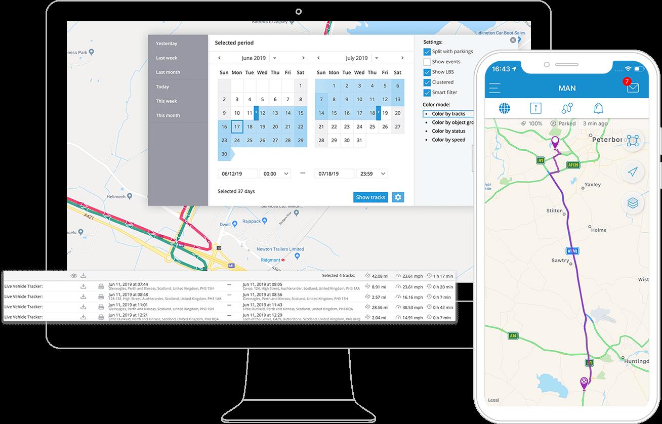 Software GPS de seguimiento de activos Plataforma de rastreo GPS