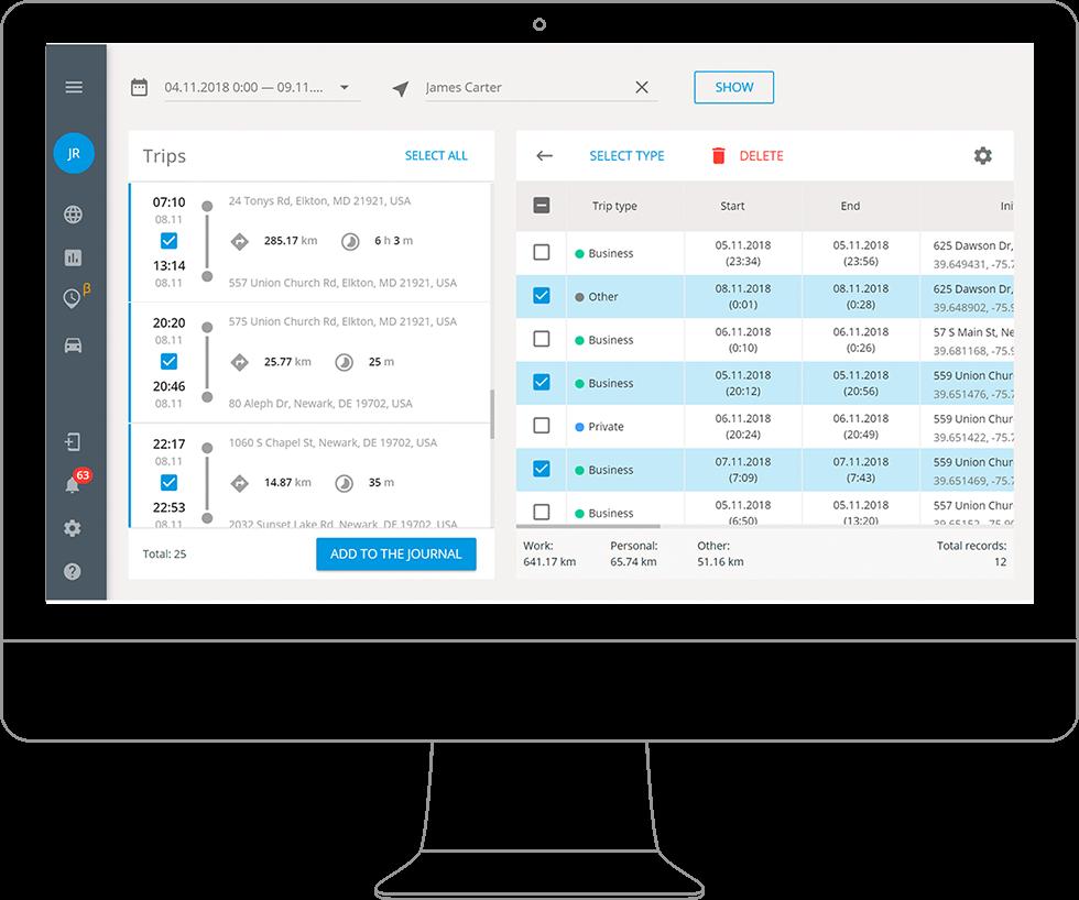 Software de gestão e controle de funcionários externos