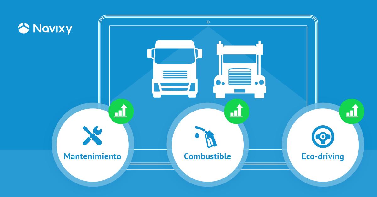 Ahorre más con menos – Transporte carretero