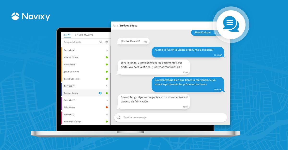 Chat y Mensajes Masivos: nuevas herramientas para optimizar la fuerza de trabajo móvil