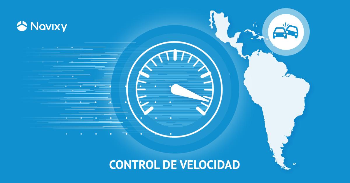 Control de velocidad en vías Latinoamericanas