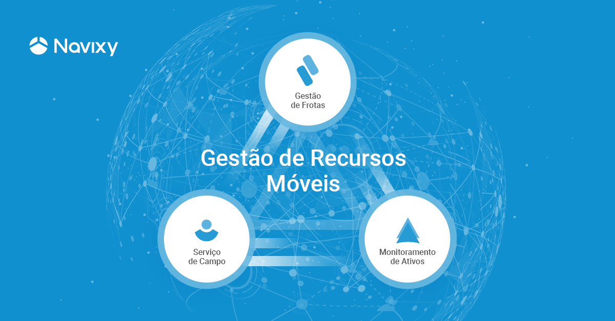 A era do simples rastreamento por GPS chegou ao fim e será substituída pela Gestão de Recursos Móveis