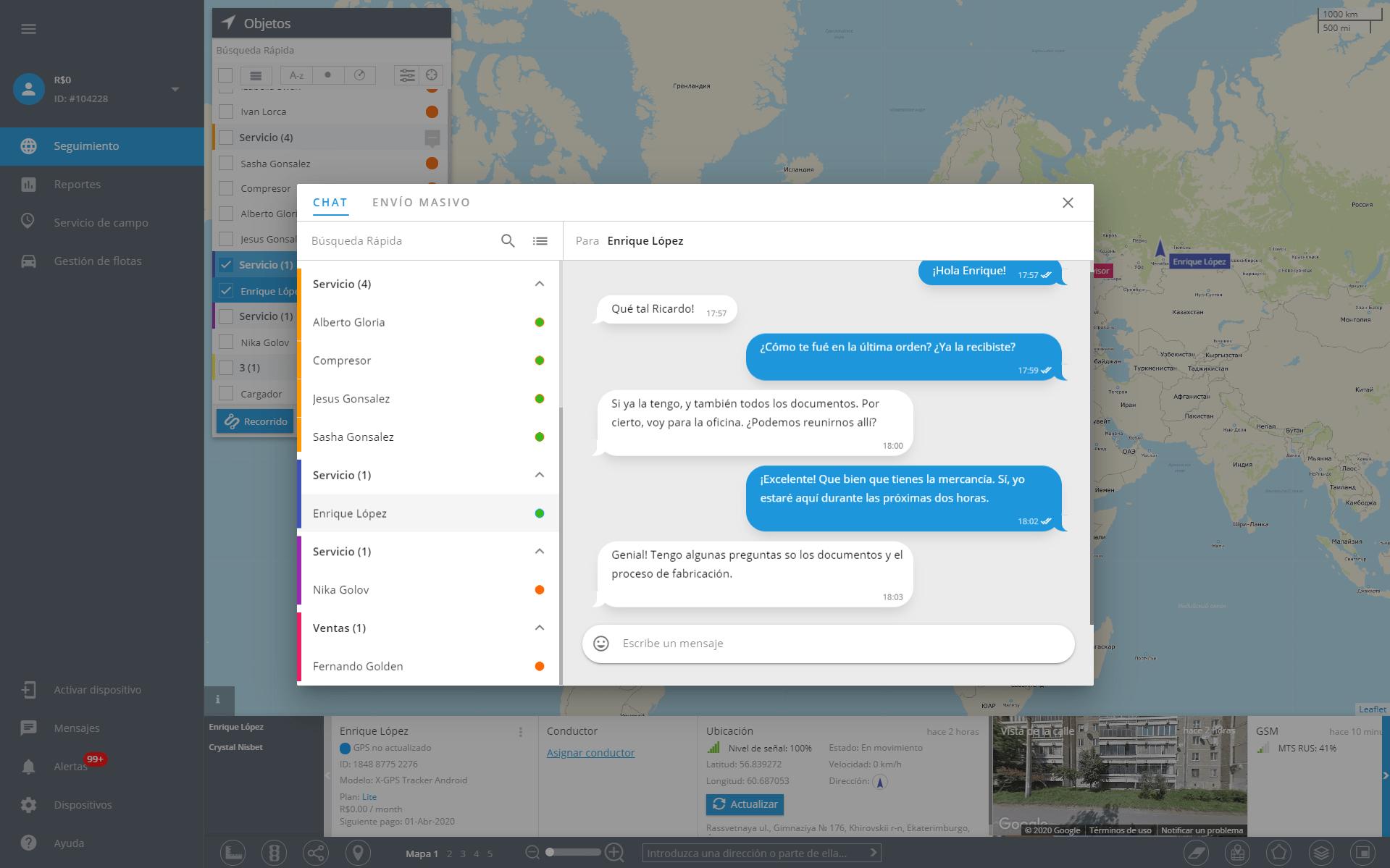 Chat e mensagens massivas: novas ferramentas para otimizar a força de trabalho externa