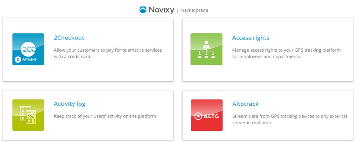 Marketplace Navixy