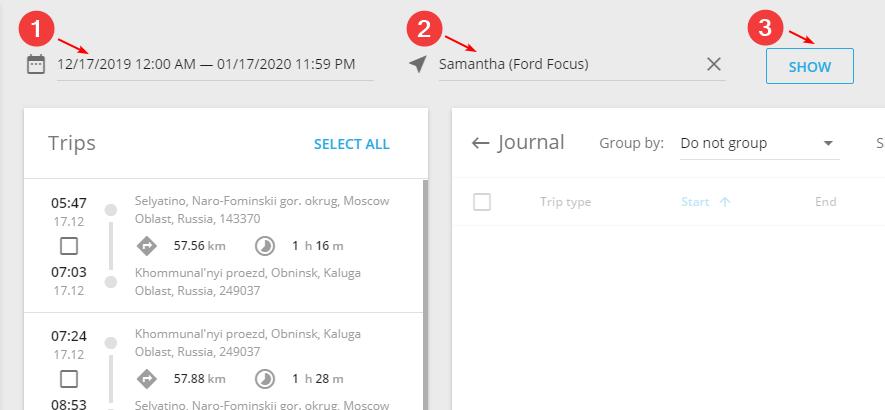Driver Journal