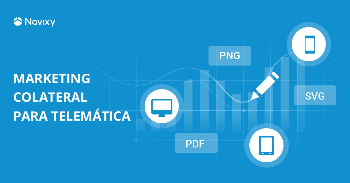 Marketing Colateral para los socios de rastreo GPS y telemática
