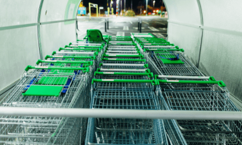 Shopping carts image