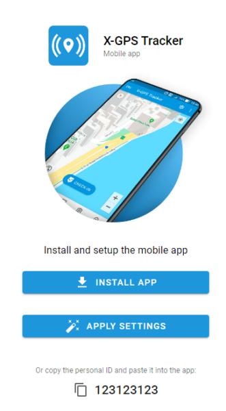 Invitation to X-GPS Tracker