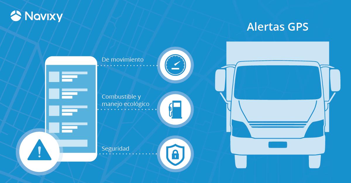 Alertas GPS para la industria transportista y carga especializada