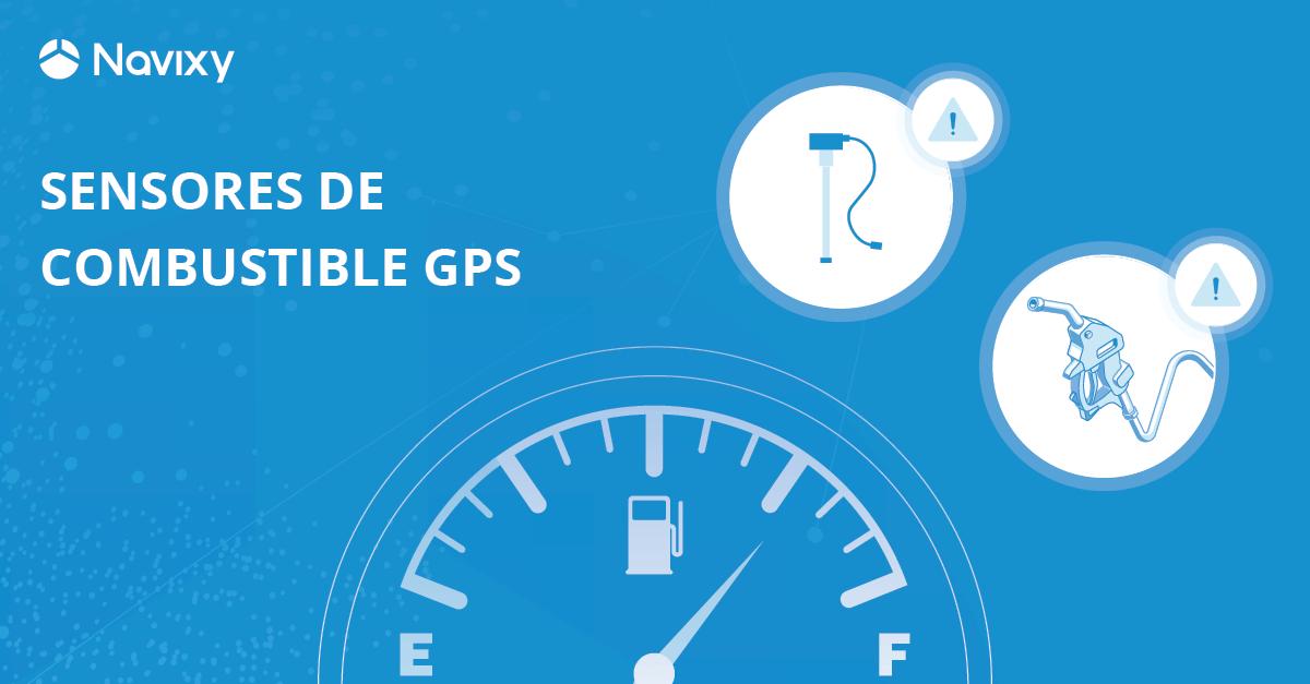 ¿Cómo elegir sensores de combustible para monitoreo GPS?