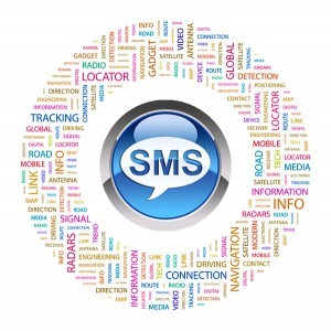 SMS messaging for GPS-tracking