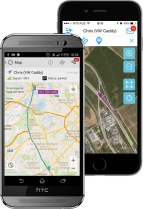 Mobile apps for GPS tracking